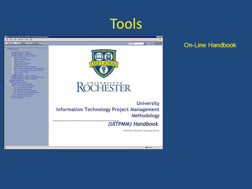Tools On-Line Handbook