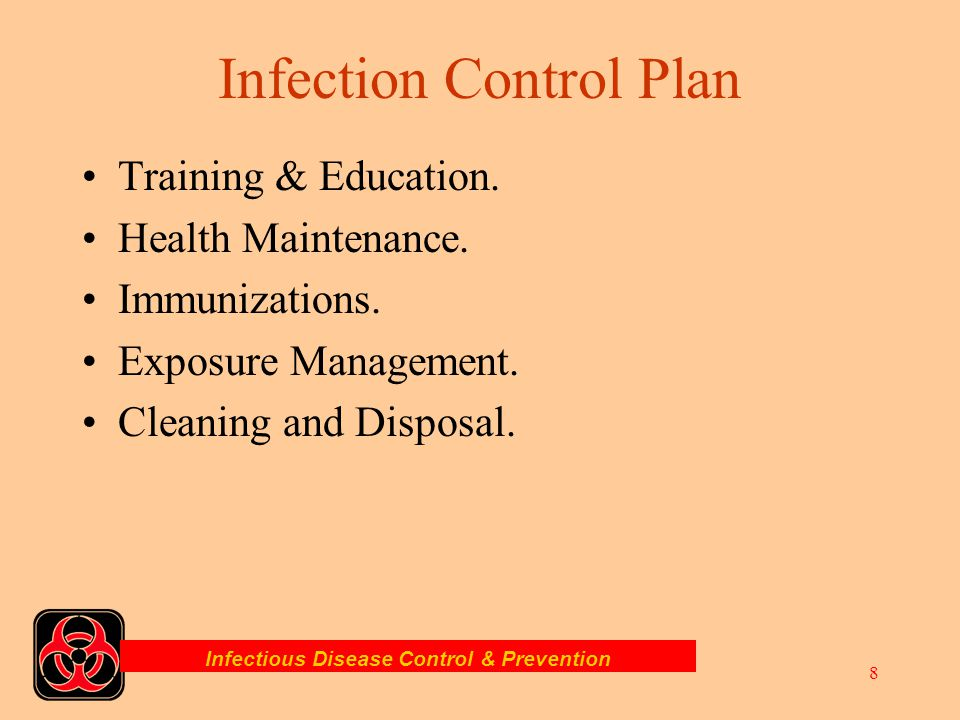 Infectious Disease Control & Prevention 7 Are Volunteer Covered? The standard states that all fire and EMS providers are covered under this standard.