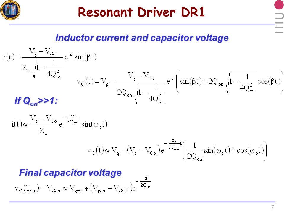 38 Experimental Waveforms: DR1 V GS1 [2V/div] V GS2 [2V/div] DR1 measured waveforms driving 4 IRF7836 SR MOSFETs (no energy recovery) P loss = 1W each HB 1 HB 2