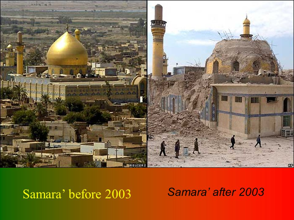 Samara before 2003 Samara after 2003