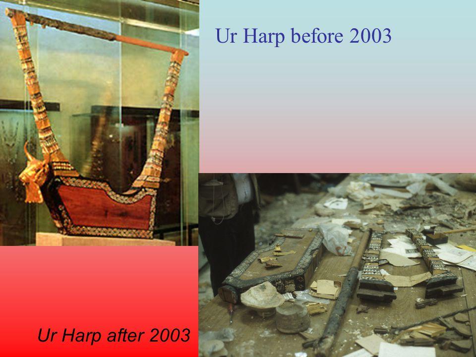 Ur Harp before 2003 Ur Harp after 2003
