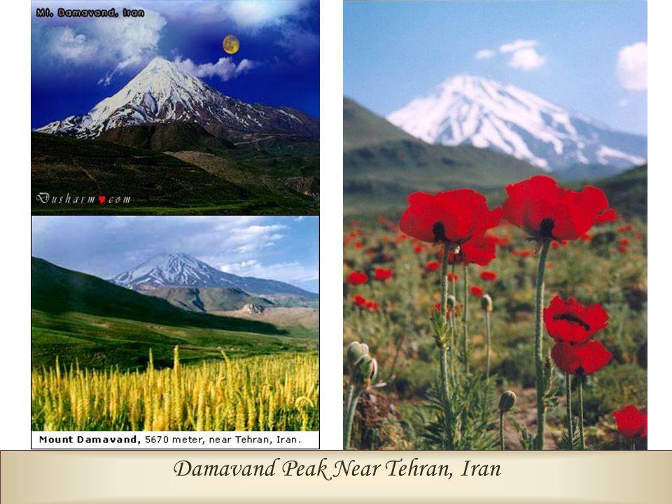 Damavand Peak Near Tehran, Iran