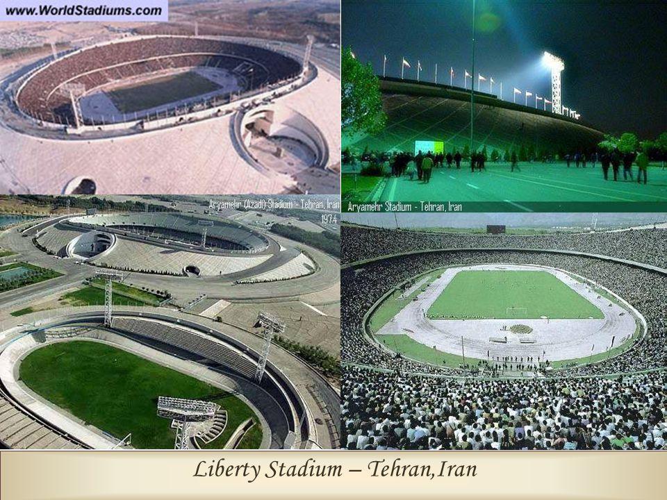 Liberty Stadium – Tehran,Iran Biggest Clock in the World