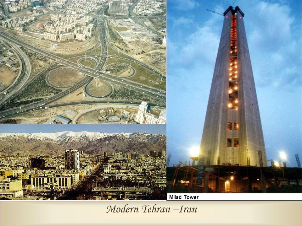 Modern Tehran –Iran International Fair Centre Milad Tower