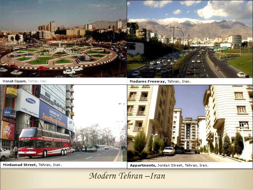 Modern Tehran –Iran Vanak Square, Tehran, Iran.