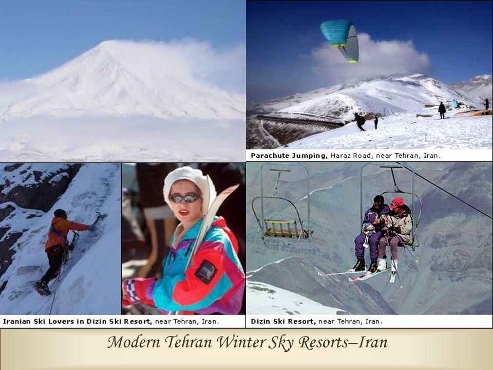 Modern Tehran Winter Sky Resorts–Iran