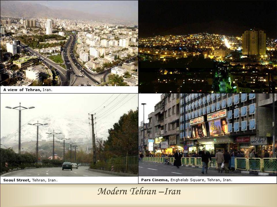 Modern Tehran –Iran