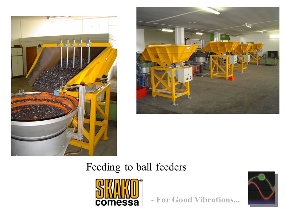 - For Good Vibrations... Feeding to ball feeders