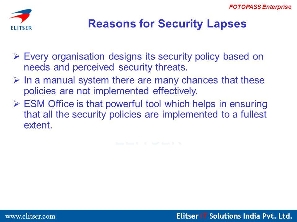 Elitser IT Solutions India Pvt. Ltd.