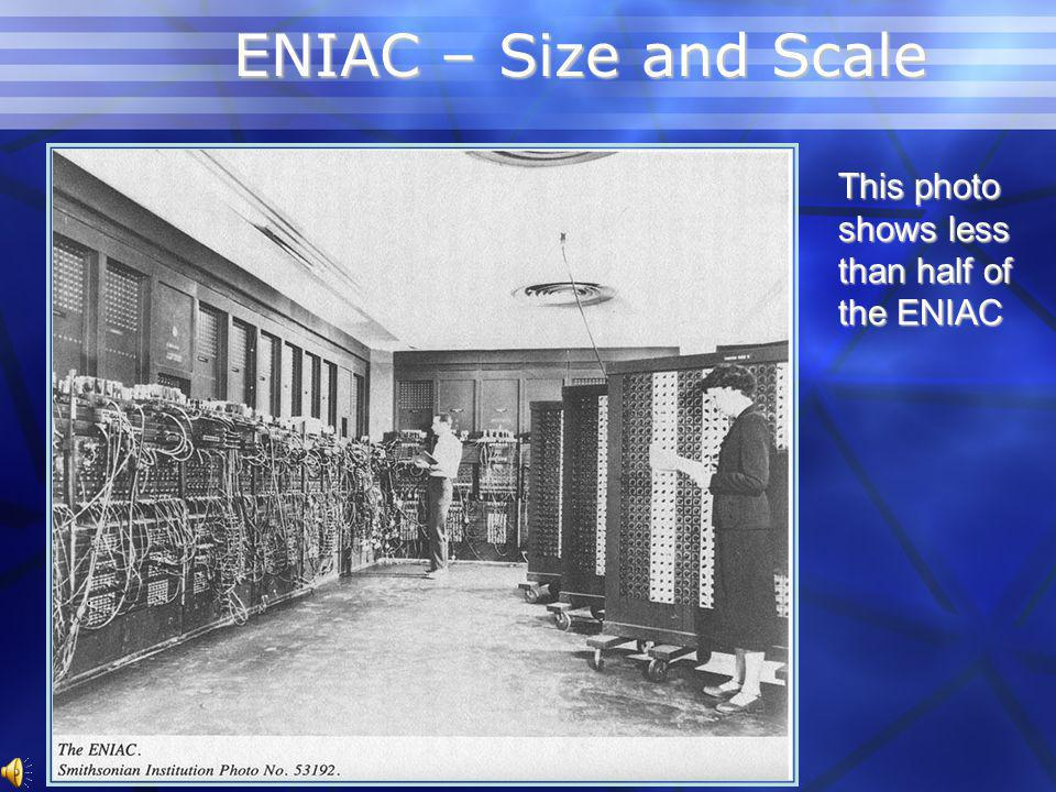 ENIAC Programmers Early Programmers were all women! Early Programmers were all women!