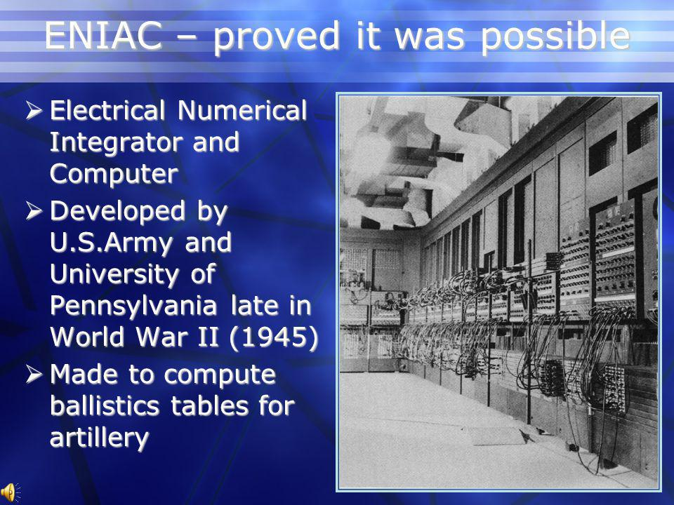 Transistor Computer 1953 University of Manchester 1953 University of Manchester Experience with building transistorized circuits Experience with building transistorized circuits 7 machines were built 7 machines were built