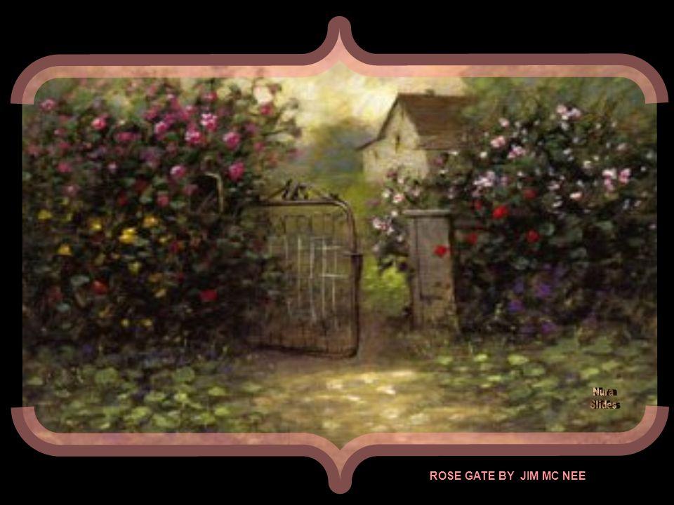 MY GARDEN GATE BY OLIVIER KLOMPKES