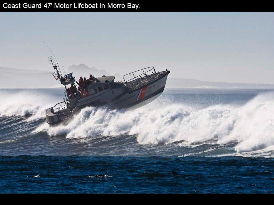 Coast Guard 47 Motor Lifeboat in Morro Bay.
