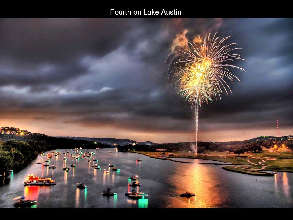 Fourth on Lake Austin