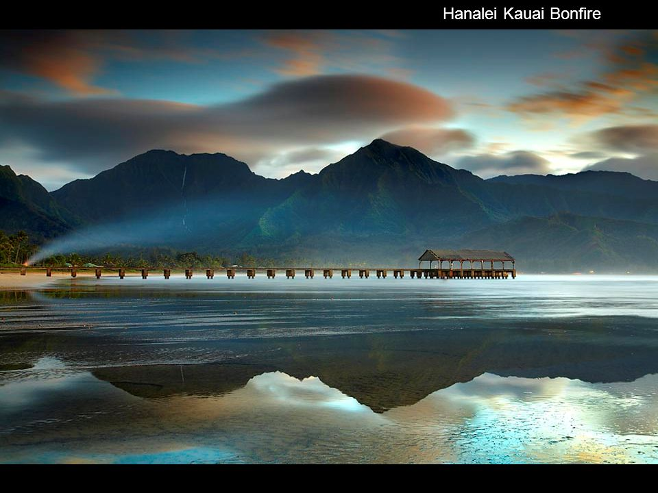 Hanalei Kauai Bonfire