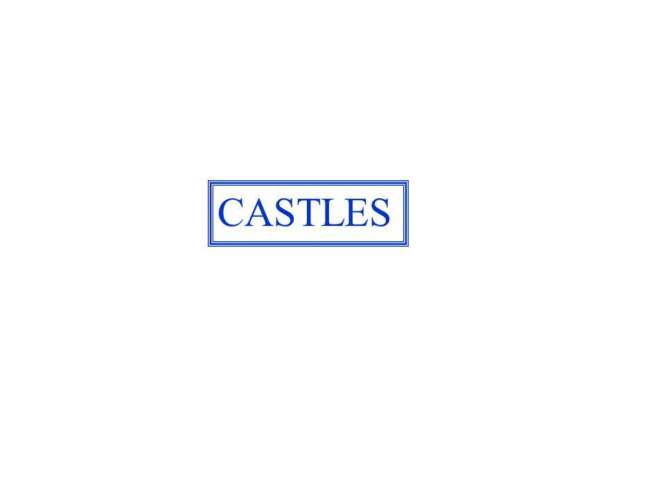 Castle Peel on St. Patricks isle, Irish Sea