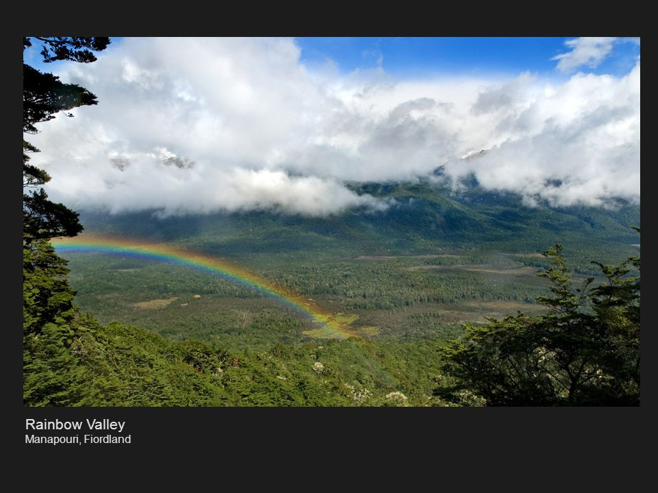 Rainbow Valley Manapouri, Fiordland