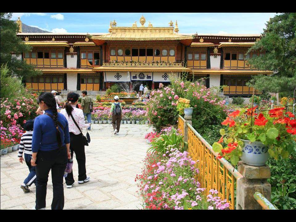Norbulinka, the summer palace of the Dalai Lamas.