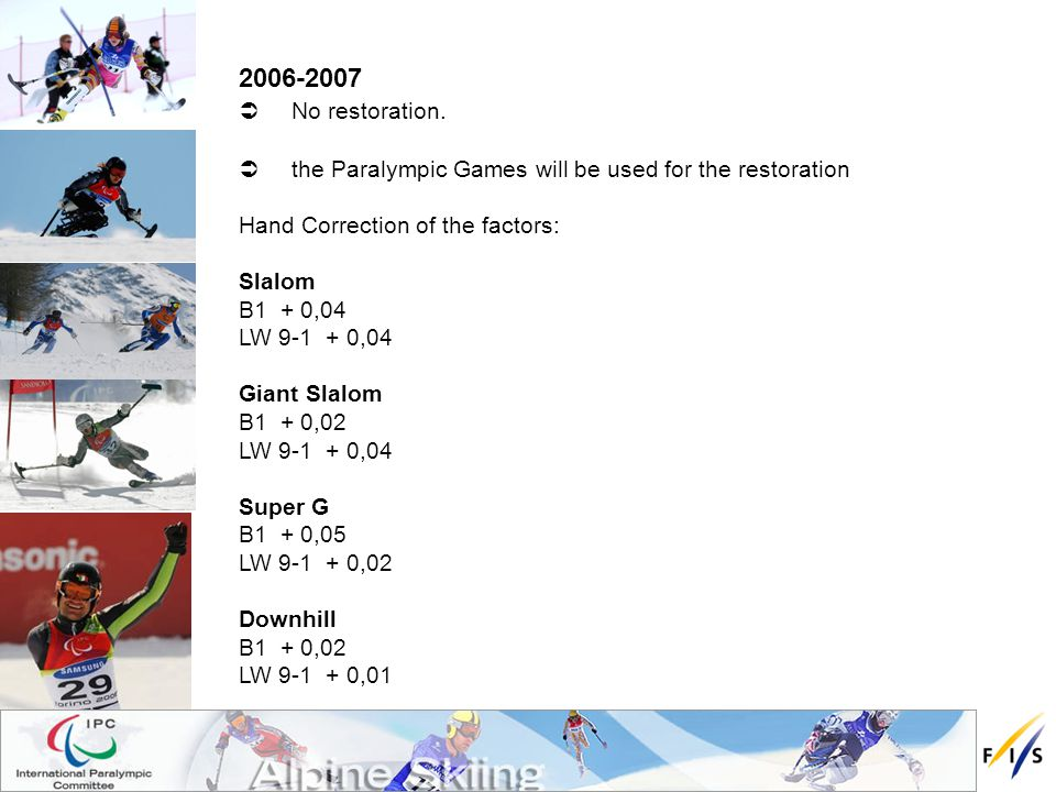 2006-2007 No restoration.