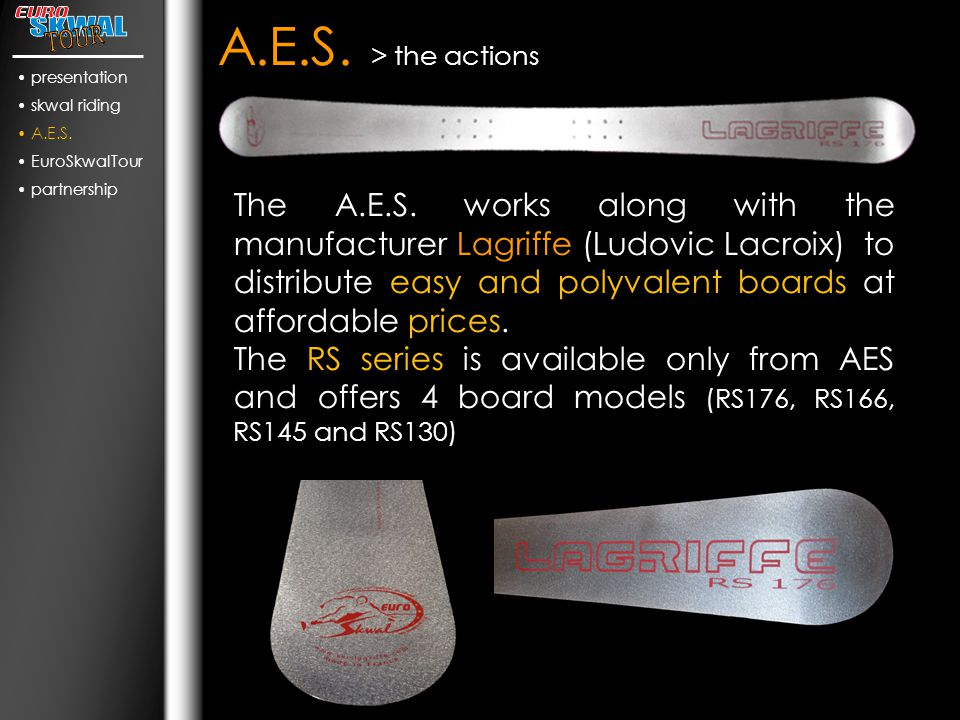 A.E.S. > the actions The A.E.S.