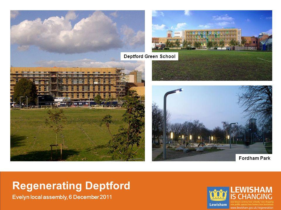 Fordham Park Deptford Green School Regenerating Deptford Evelyn local assembly, 6 December 2011