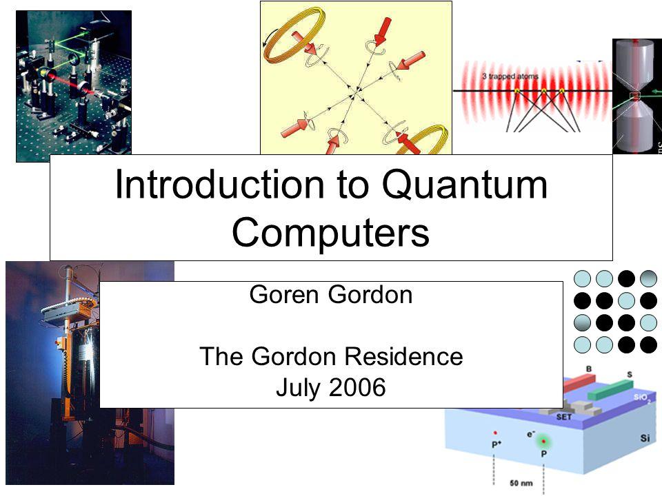 Molecules Quantum Hardware Readout: Spectroscopy |0> |1> |0> |1> frequency intensity 91.8 http://qso.lanl.gov/qc/