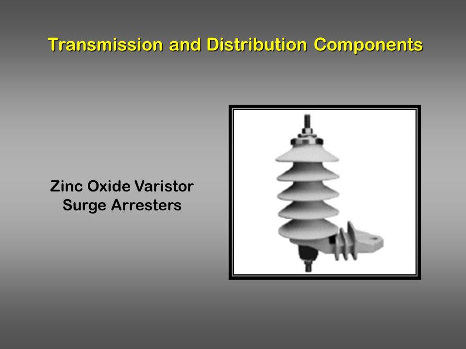 Transmission and Distribution Components Zinc Oxide Varistor Surge Arresters