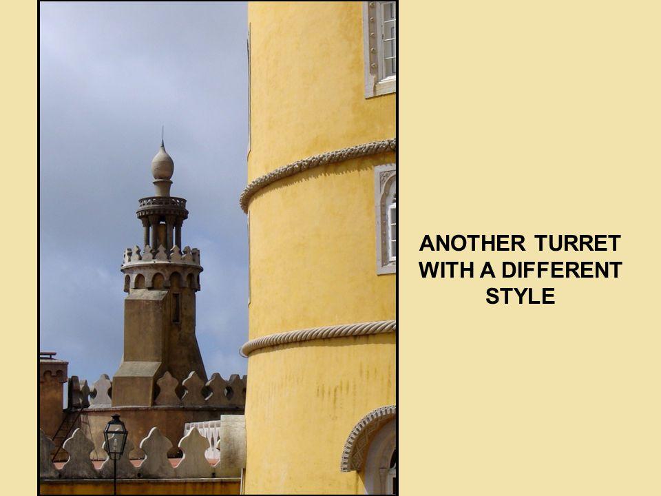 TURRET WITH MINARET AND MOORISH DOME