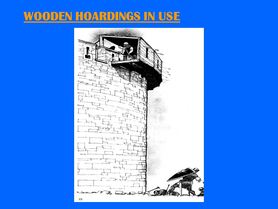 SCALING LADDERS