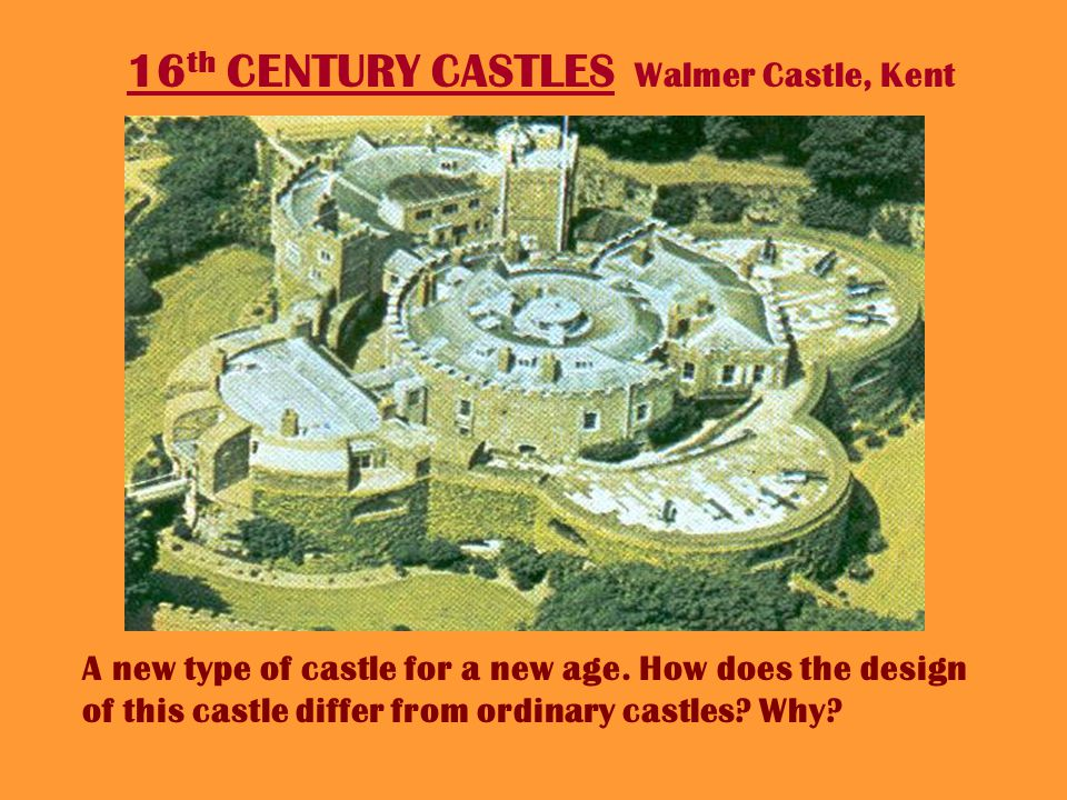 HENRY VIIIS CASTLES – Deal Castle, Kent. Henrys castles were really forts and were used to protect England from invasion by the French.
