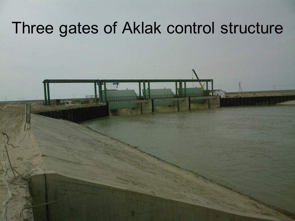 Three gates of Aklak control structure