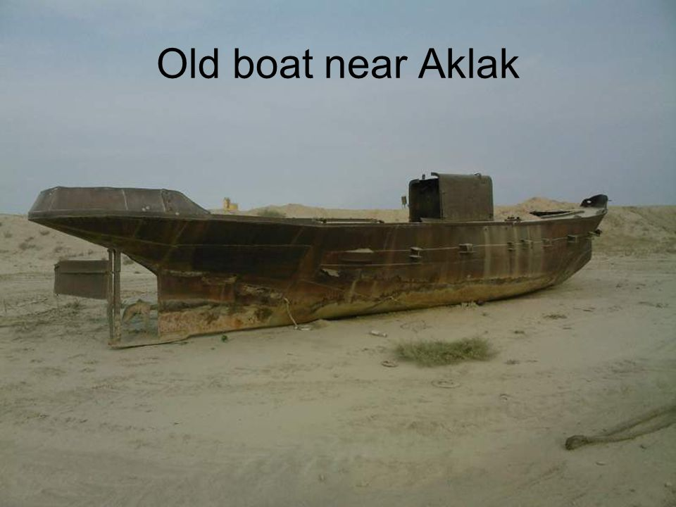 Old boat near Aklak