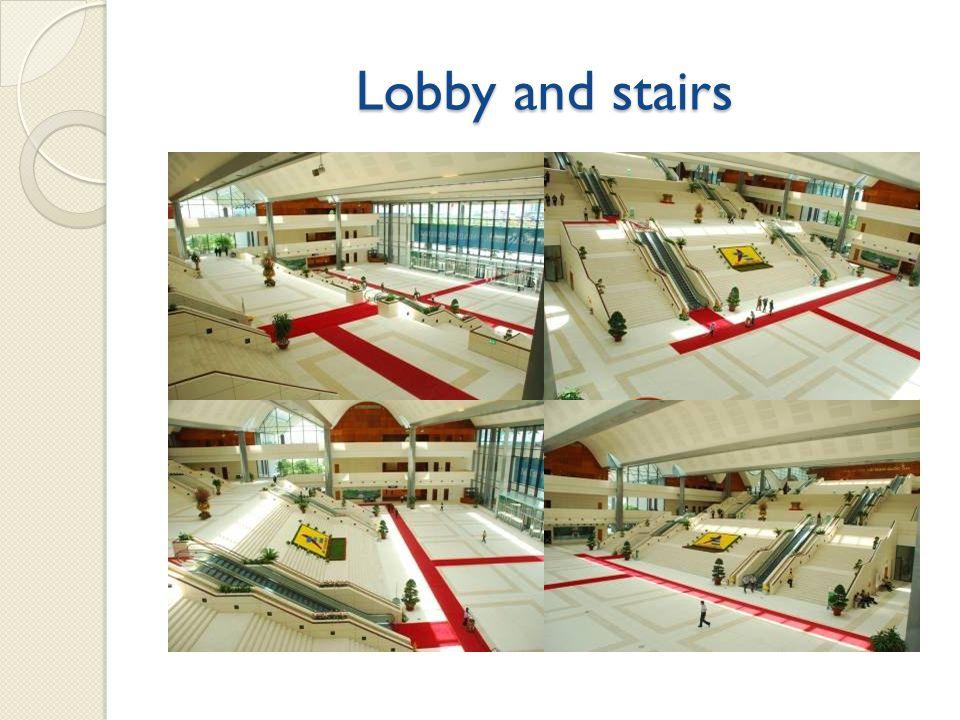 Main meeting hall (MMH) - half hall (1 st FL) -