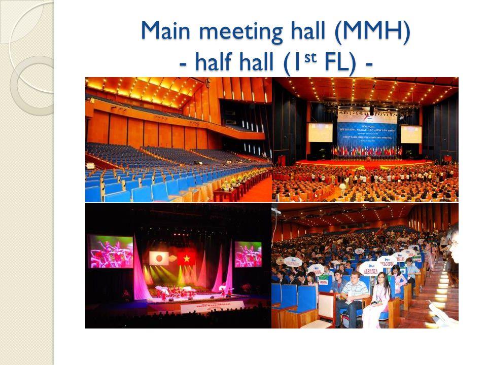 Banquet room – whole & half – foyer