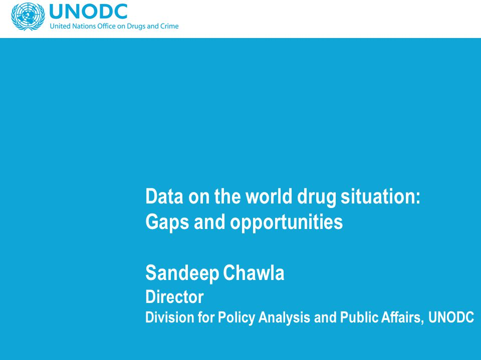 Outline Why collect and analyse data on the drug situation.