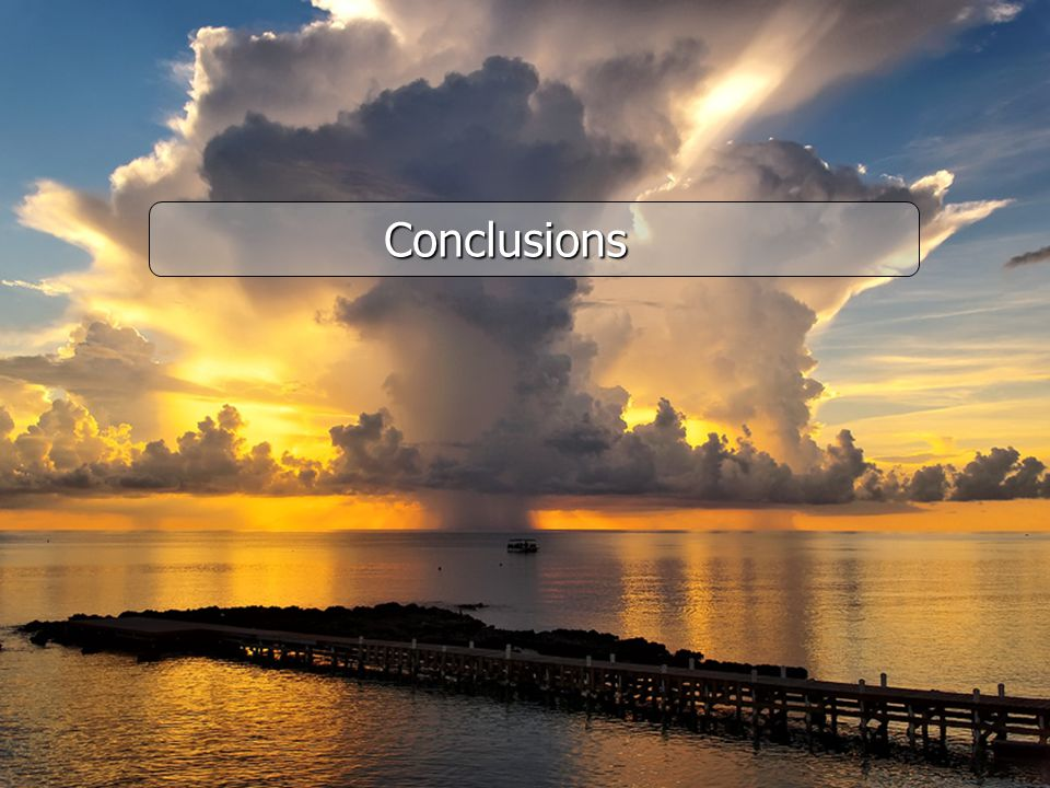 FinFin Conclusions Conclusions