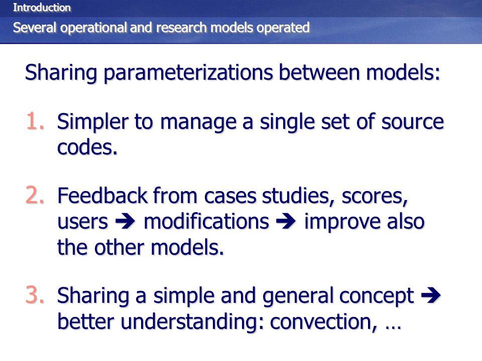 SummarySummary On-going efforts in designing unified equation sets: 1.