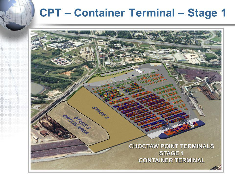 CPT – Container Terminal – Stage 1