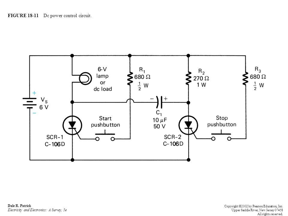 FIGURE 18-11 Dc power control circuit. Dale R.
