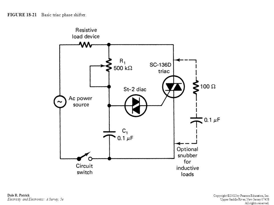 FIGURE 18-21 Basic triac phase shifter. Dale R.