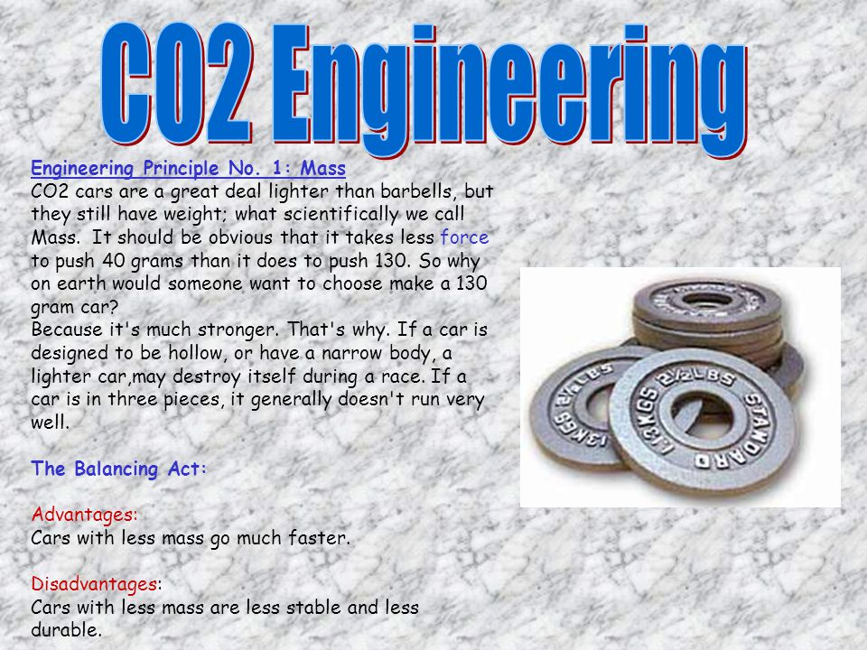 Engineering is like a balancing act. When you do one thing to overcome a problem, often you create another two problems, never solving either entirely