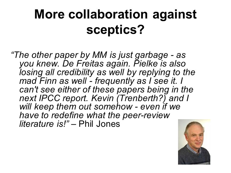 More collaboration against sceptics. The other paper by MM is just garbage - as you knew.