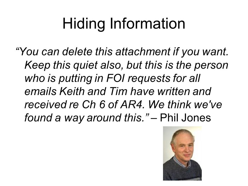 Hiding Information You can delete this attachment if you want.