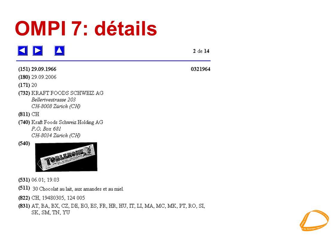 OMPI 7: détails