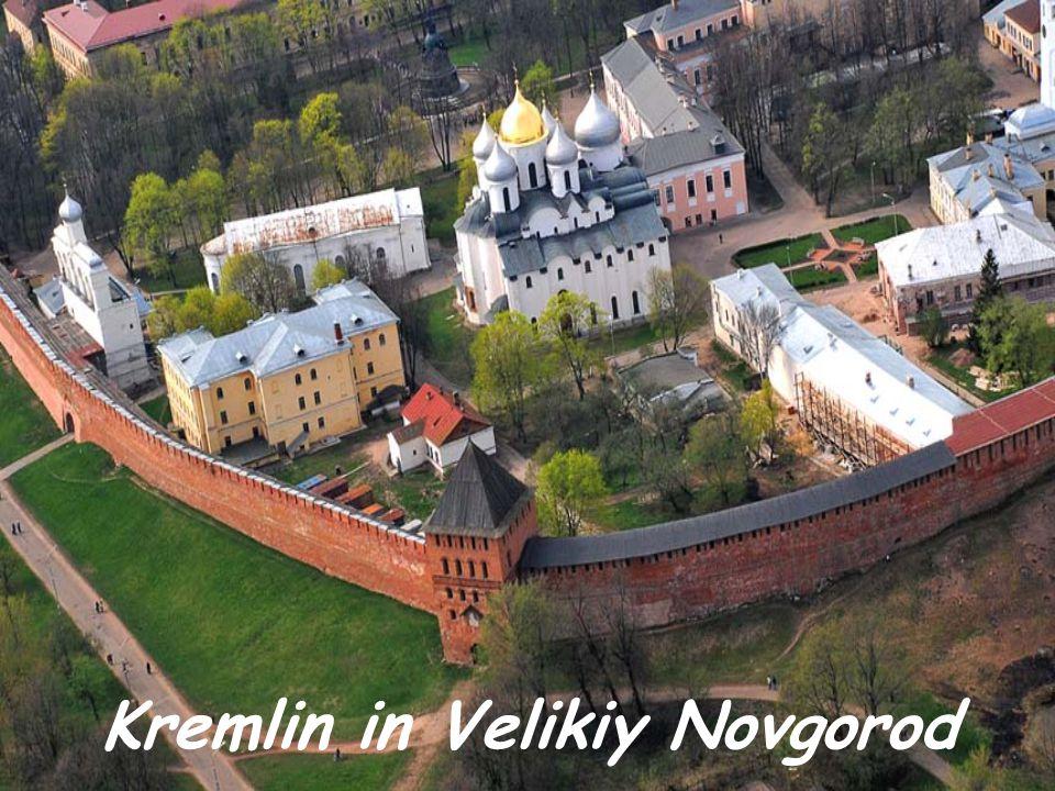 Kremlin in Velikiy Novgorod