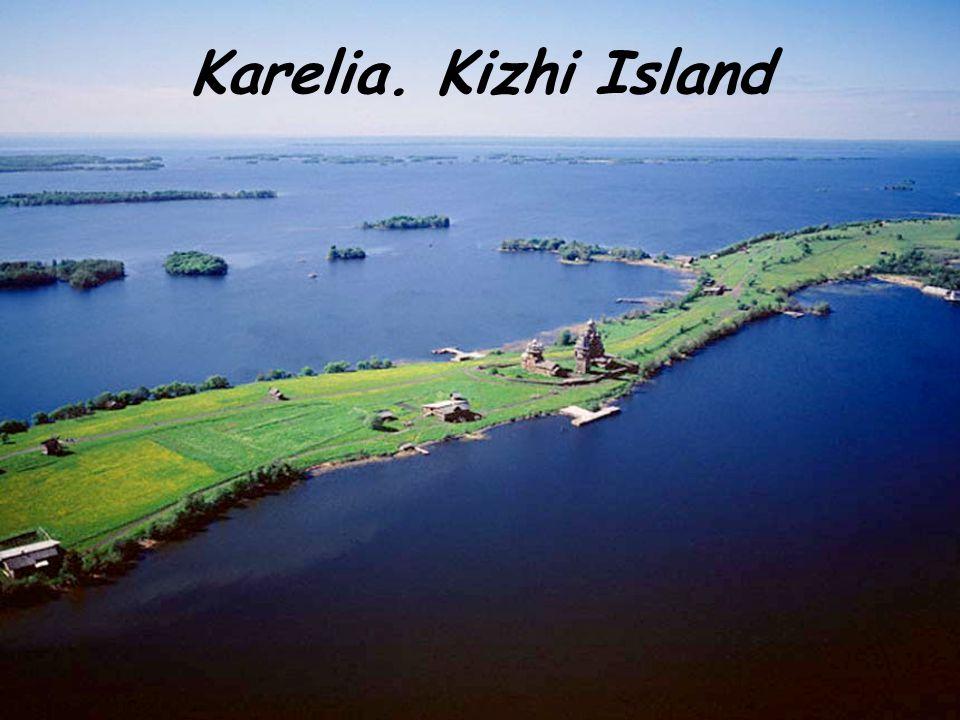 Karelia. Kizhi Island