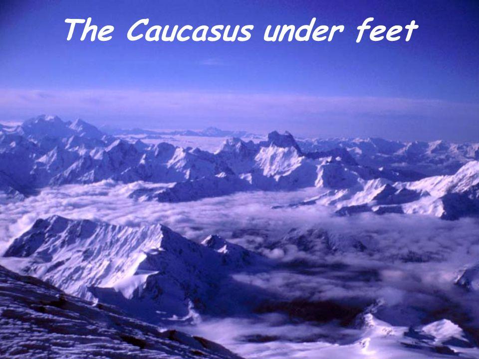 The Caucasus under feet