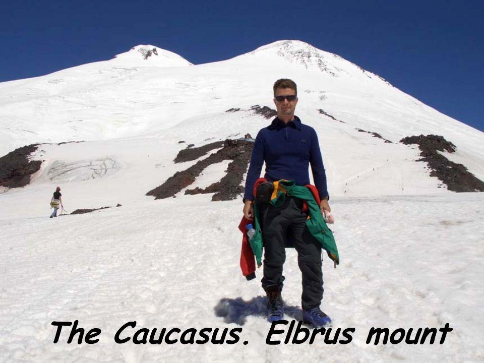 The Caucasus. Elbrus mount