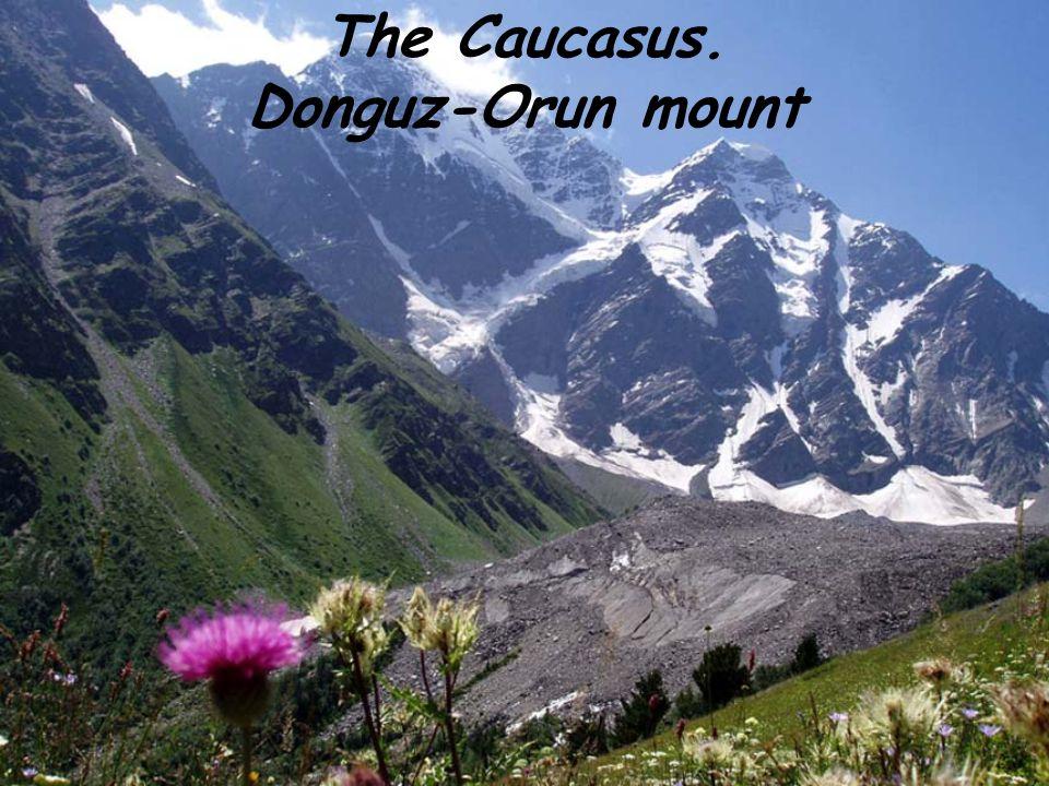 The Caucasus. Donguz-Orun mount
