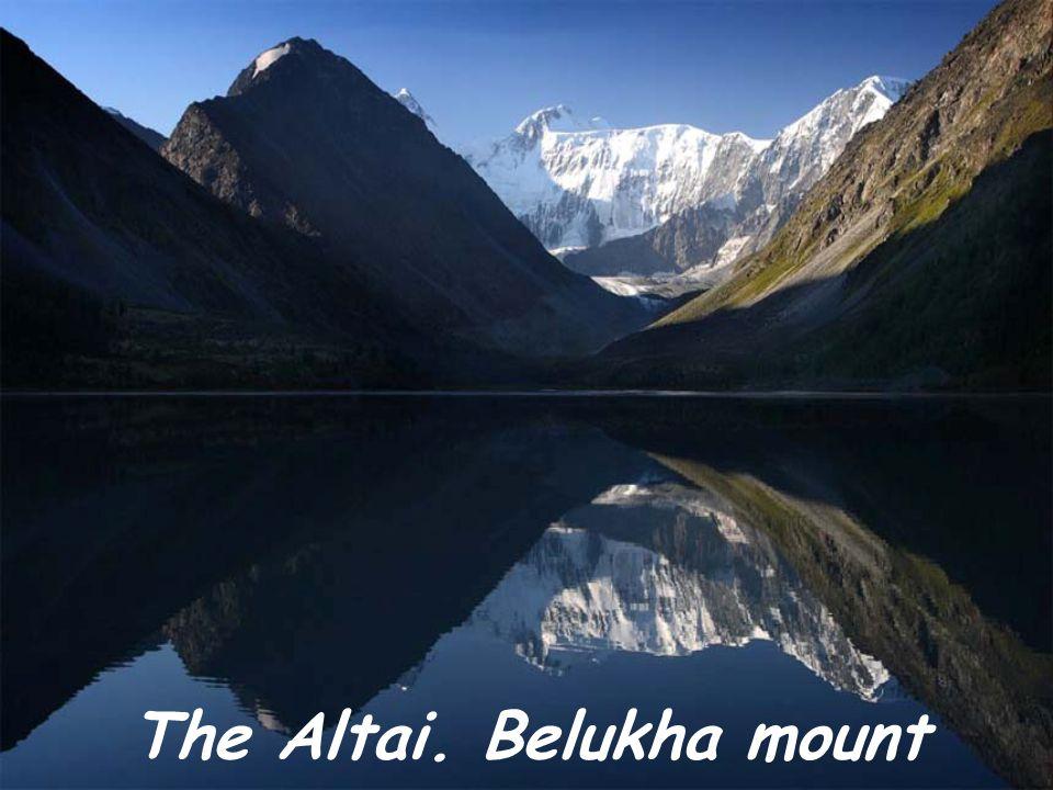 The Altai. Belukha mount